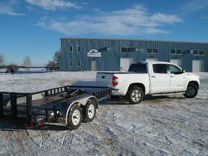 2015 Tundra CrewMax plus double axle trailer just for 41,200 !!!