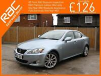 2006 Lexus IS IS250 2.5 SE 6 Speed Auto Full Leather Heated Ventilated Seats Jus