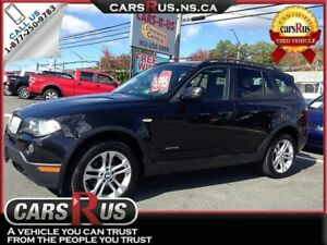 2010 BMW X3 xDrive30i.....Includes 4 FREE winter tires!!