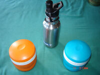 Water Bottle - Insulated CUPS & Lunch BAG