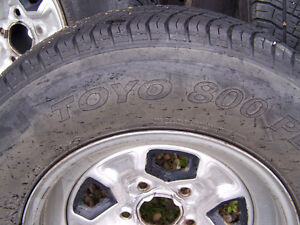 Chey Blazer rims with tires (5 x 120.7) Edmonton Edmonton Area image 5