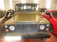 Land Rover Defender (green) 1986