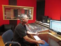 Recording Studio Calgary Audio Engineering Service