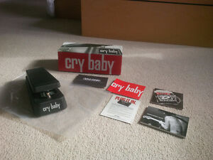 Dunlop Original Cry Baby with carrying case