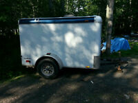 Continental Tail Wind by Forest River 5 x 8 Cargo Trailer 2009