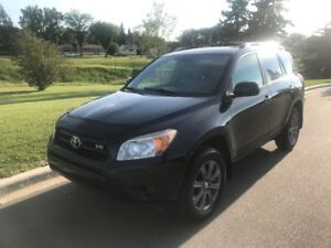 2007 Toyota Rav4 V6  w Winter Tires on Rims