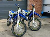 Sherco SE 300 Factory enduro, 2021, for more info please call Fast Eddy Racing