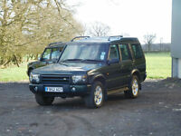 2002 52 Reg Land Rover Discovery 2.5Td5 ES 7 Seats