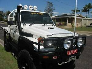 Wrecking Genuine Toyota Land cruiser guards doors bonnets Weston Cessnock Area Preview
