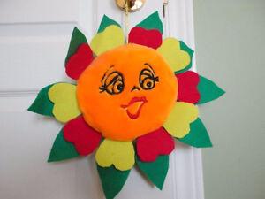Plush stuffed sun toy brand new