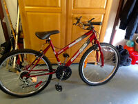 18 Speed SC1800 SuperCycle Bicycle (Red)
