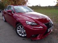 2013 Lexus IS 300h Luxury 4dr CVT Auto FLSH! Keyless! 4 door Saloon