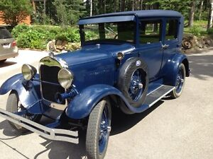 29 Model A Fordor Leatherback