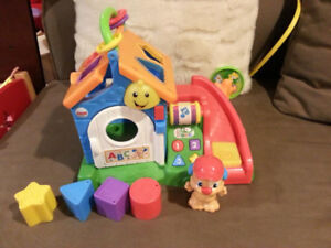 Musical Toy Play House