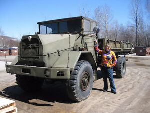 1960 MAN German army military 5 ton 4x4 Try your trade !!