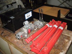 Complete Hydraulic system or priced by part