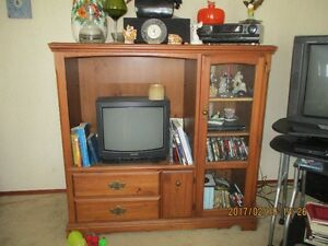 Solid Entertain Unit with TV