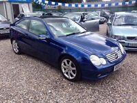 2003 Mercedes C200 CDI Se Coupe - Stunning - FSH - Part Exchange @ Aylsham Rd Affordable Car Centre
