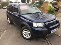 Land Rover Freelander 2004 Left Hand Drive LHD
