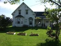 LARGE COUNTRY HOME ON 1/2 ACRE FOR SALE!