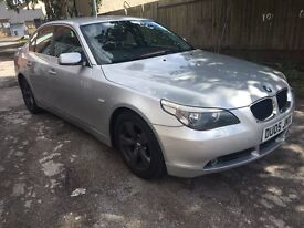 BMW 530D SE M SPORT EXTRAS DPF REMAP AND EGR DELETE 2005 well maintained