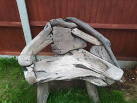 Garden bench teak wood