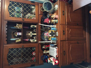 Rock wood maple hutch and buffet, and estate sale