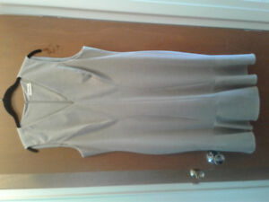 Calvin Klein lined dress for Spring and Summer