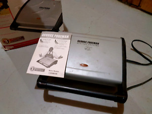 George foreman grill used heavily