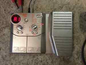 Zoom bass 607 multiple effects pedal  London Ontario image 1
