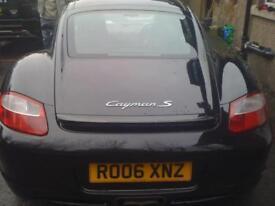 Porsche Cayman S 3.4 2006MY
