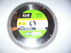 **NEW** PROFESSIONAL 10 IN , 80 TOOTH SAW BLADE.
