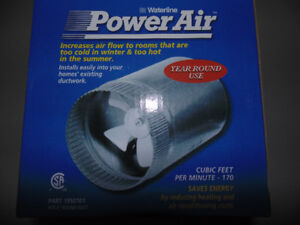 In-Duct Air Booster Fans