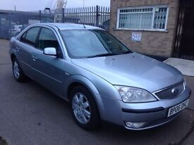Ford Mondeo 2006 diesel manual 4 new tires