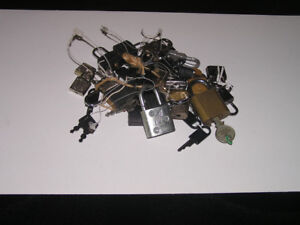 Lot of Small Locks & Keys