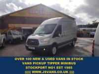 2014 64 FORD TRANSIT CUSTOM 2.2 350 TREND 125 BHP L.W.B HITOP 1 OWNER ONLY 51000