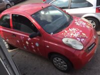 Micra 1.2 automatic non runner spares or repairs