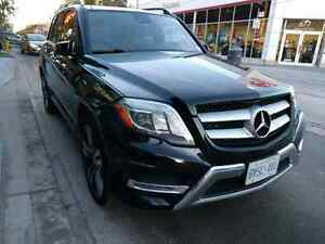 2015 Mercedes GLK250 Diesel, Black on Black 42800km
