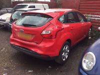 FORD FOCUS 1.0 TURBO 2012 NEW SHAPE CAT D LIGHT DAMAGED REPAIRS LOW MILEAGE