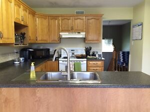 Oak Cabinets. Reduced