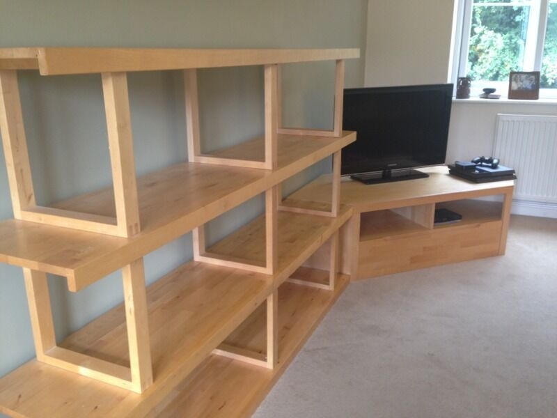 Ikea norrebo shelving room divider and tv unit storage in chipping norton oxfordshire - Ikea shelf room divider ...