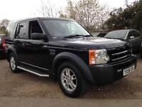 2006 Land Rover Discovery 3 2.7TD V6-7 SEATER-FULL SERVICE HISTORY-TOWBAR-BLACK