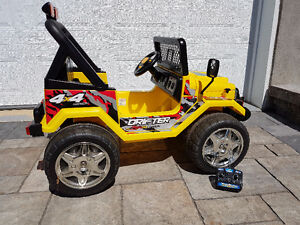 Jeep à batterie - Battery Jeep