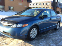 2008 Honda Civic with 4 new WINTER TIRES, Fresh SAFETY $6900