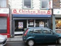 Chicken Run Takeaway Running business for sale in Porth RCT