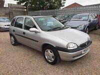 Vauxhall Corsa 1.4i ( Hi-Torq ) Breeze Ltd Edn, Silver 5dr Hatch, ANY PX WELCOME