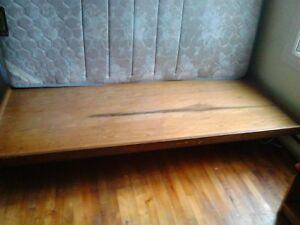 Single bed wooden bed base for sale from Lasalle.