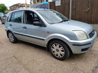 2003 53 Reg Ford Fusion 1.6 ,5 DOORS,MANUAL,PART EX TO CLEAR