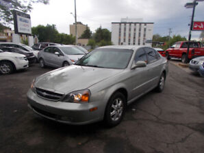 2004 CHEVROLET LOW LOW KM 96.000 KM SAFETY +1 YEAR WARRANTY