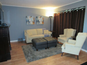 Fully Furnished 3 bed, 2 bath house!
